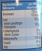 Thunfisch Filets - Nährwertangaben - de