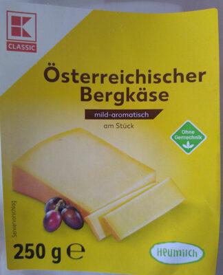 Österreichischer Bergkäse - Product