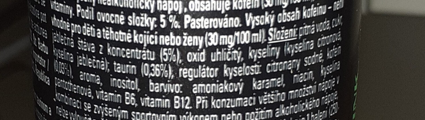 Crazy Wolf - Ingredients - cs