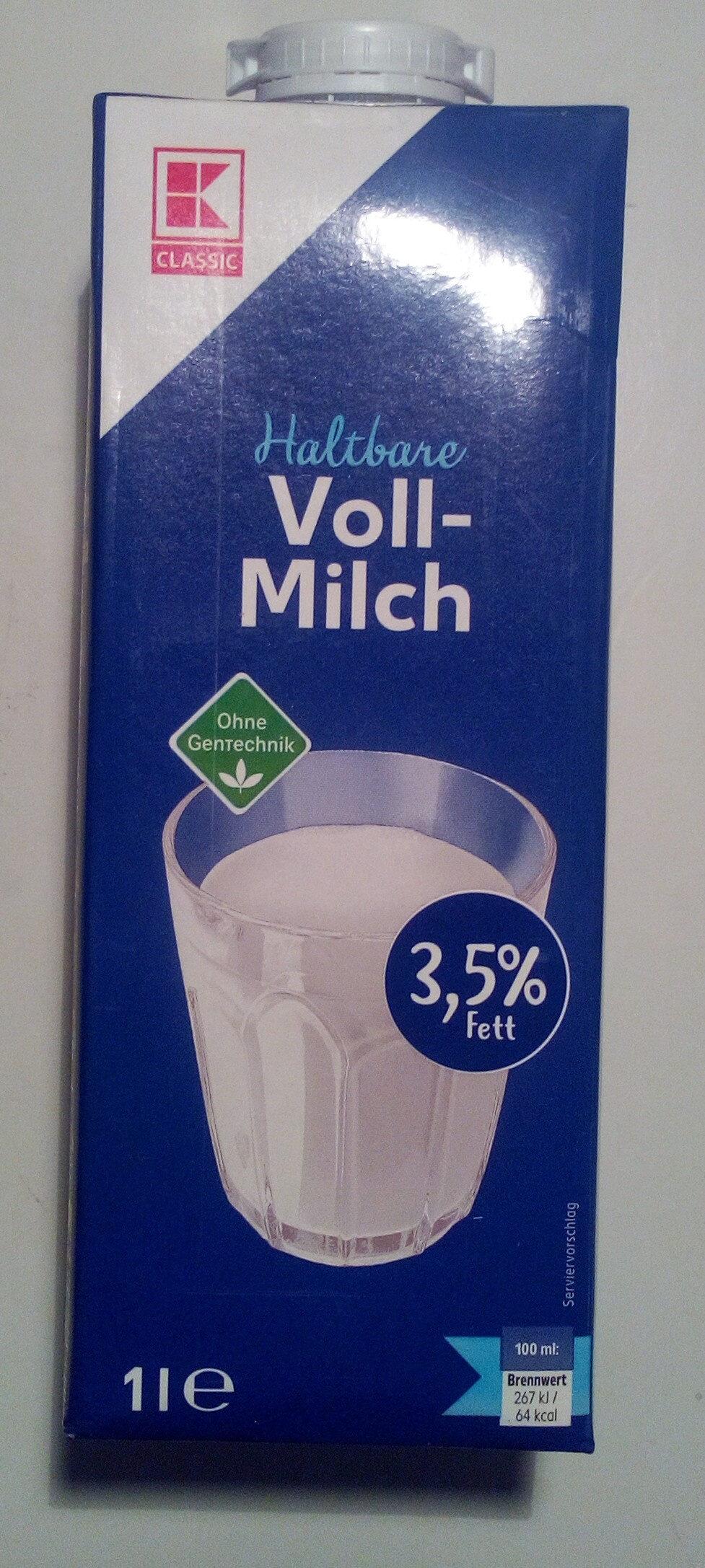 Haltbare Voll-Milch - Produit - de