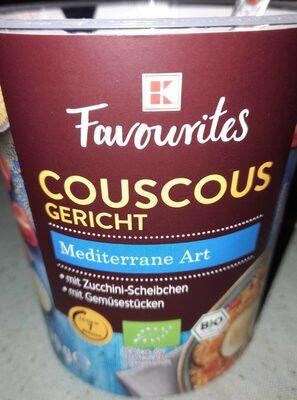 Couscous Gericht Mediterrane Art - Produkt - de