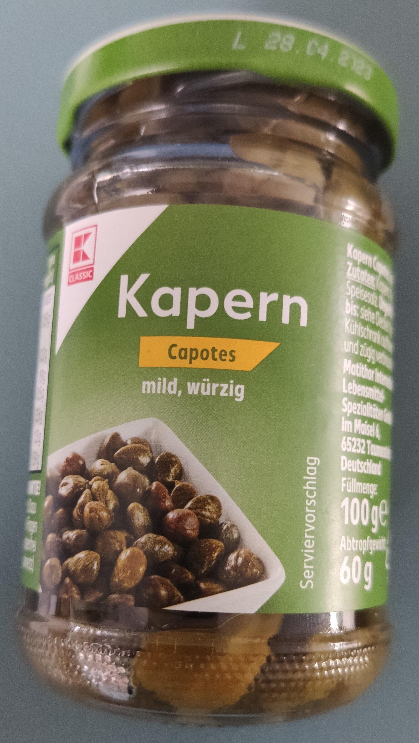 Kapern - Product - fr