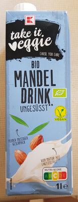 Bio MandelDrink ungesüsst - Produkt - de