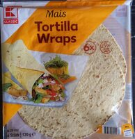 Mais Tortilla Wraps - Produkt - de