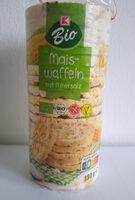 Maiswaffeln mit Meersalz - Product - de