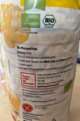 Maiswaffeln - Zutaten - de