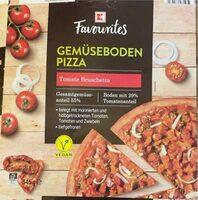 Gemüseboden Pizza Tomate Bruschetta - Produkt - de