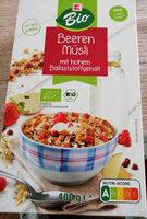 Beeren Müsli - Produkt - de