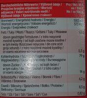 Flakes & Red Fruits - Nährwertangaben - de