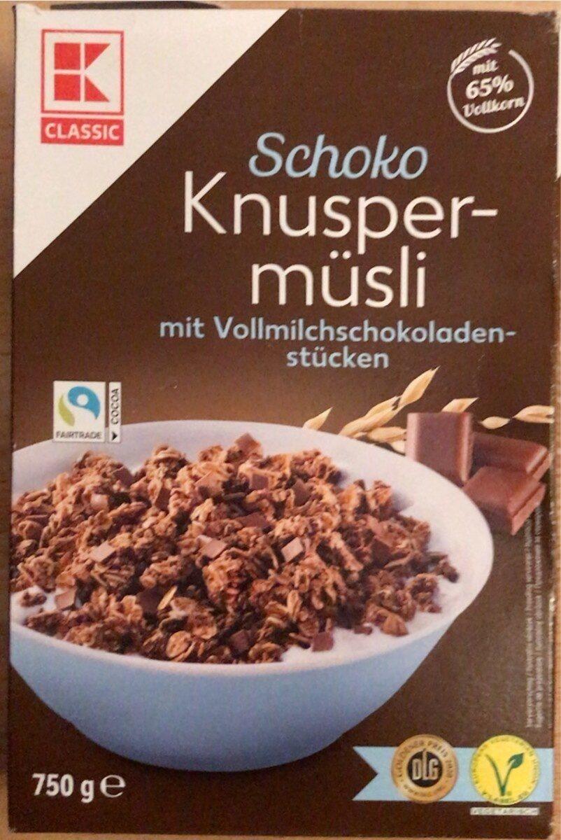 Schoko Knuspermüsli - Produkt - de