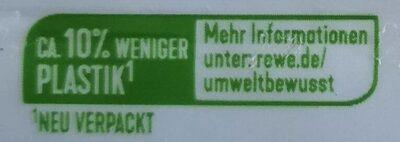 Alpen-Vollmilch Haselnuss - Recyclinginstructies en / of verpakkingsinformatie - de