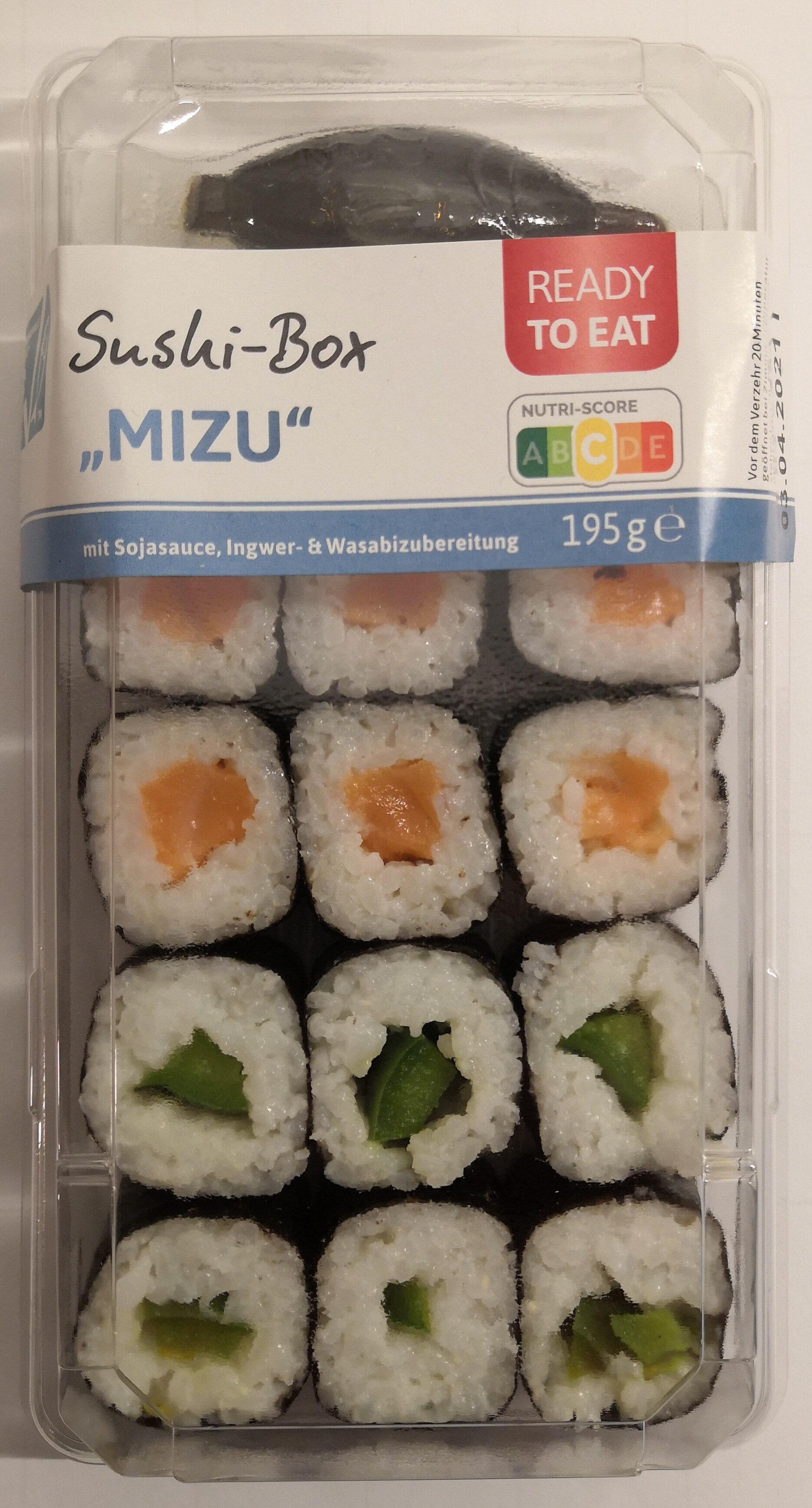 """Sushi-Box """"Mizu"""" - Produit - de"""
