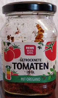 getrocknete Tomaten in Öl mit Oregano - Product - de