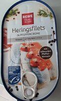 Heringsfilets in Pfeffercreme - Produit - de