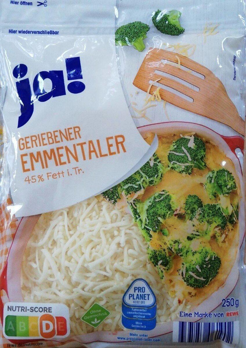 Geriebener Emmentaler 45% Fett i. Tr. - Product - de
