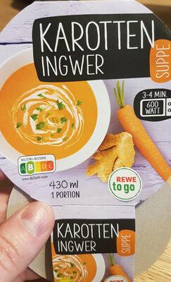Karotten-Ingwer Suppe - Produkt - de