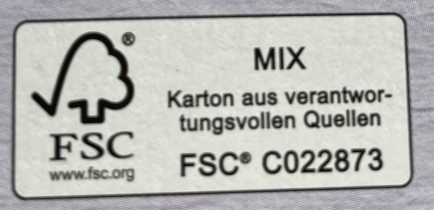 Karotten-Ingwer Suppe - Wiederverwertungsanweisungen und/oder Verpackungsinformationen - de