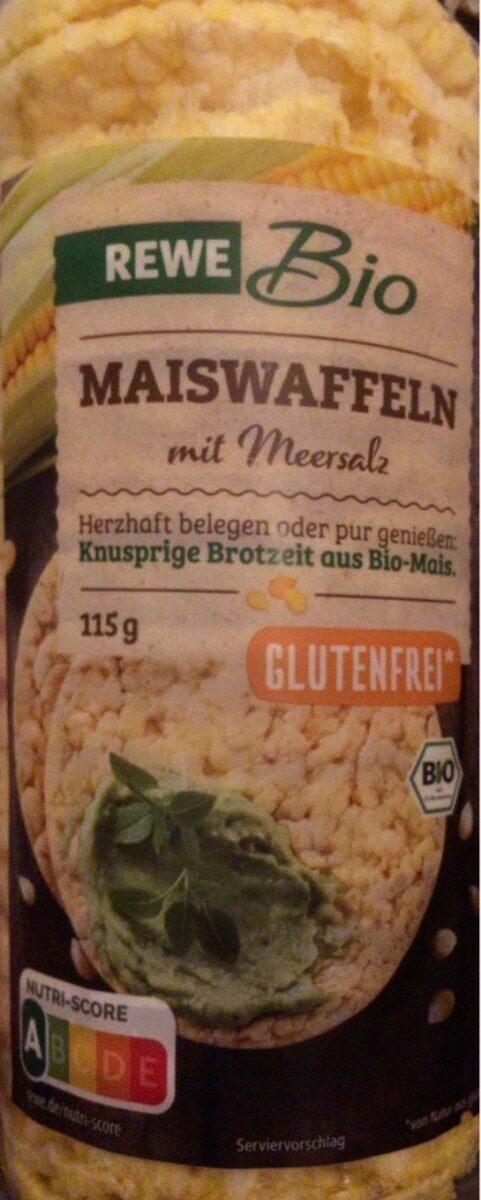Maiswaffeln mit Meersalz - Produkt - de