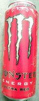 Monster energy ultra red - Produit - fr