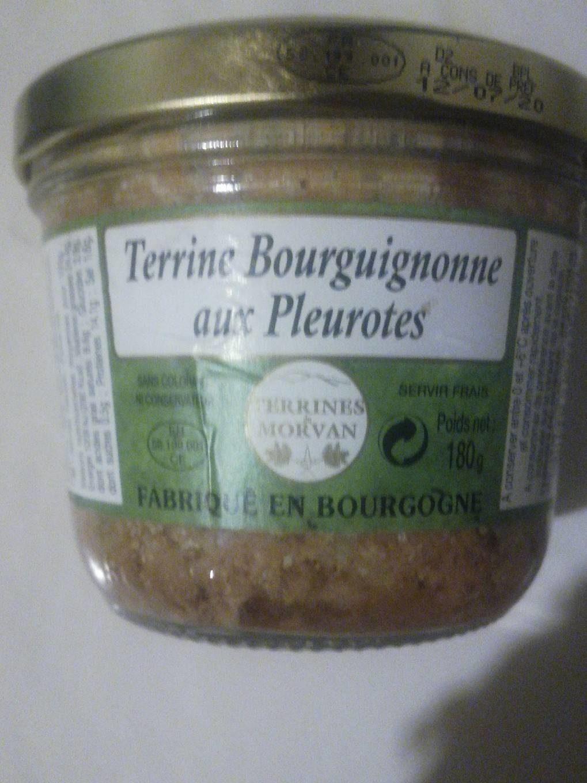 Terrine bourguignonne aux pleurotes - Produit - fr
