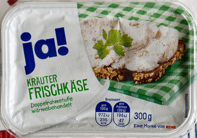 Kräuter Frischkäse - Produit