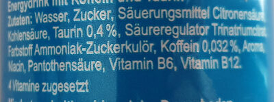 Bullit - Ingredients - de