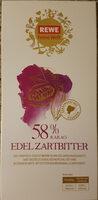 58% Kakao Edel Zartbitter - Product - de