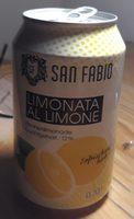 Limonata al limone - Product