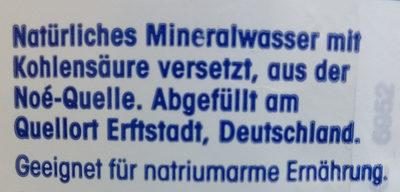 Ja! Natürliches Mineralwasser Classic - Ingredients - de