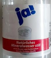 Natürliches Mineralwasser still - Product - de