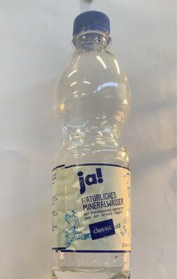 Ja! Natürliches Mineralwasser - Nutrition facts