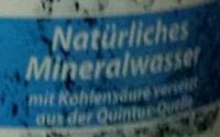 Ja! Natürliches Mineralwasser - Nutrition facts - de