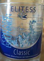 Mineralwasser Baruth Quelle, Elitess, classic - Prodotto - en