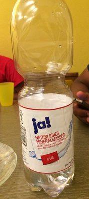 Natürliches Mineralwasser, still - Product - de