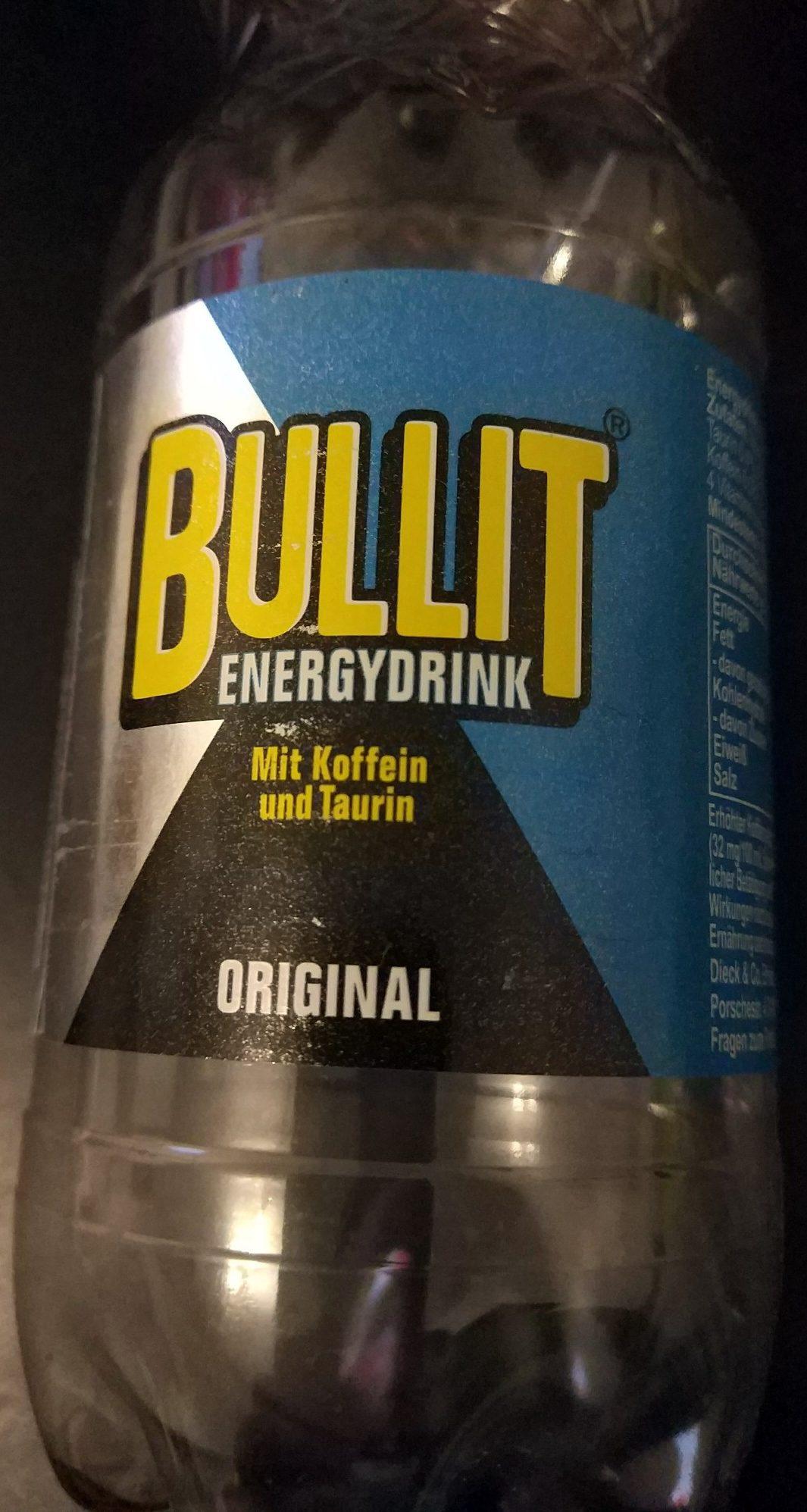 Bullit Energy Drink - Produkt - de