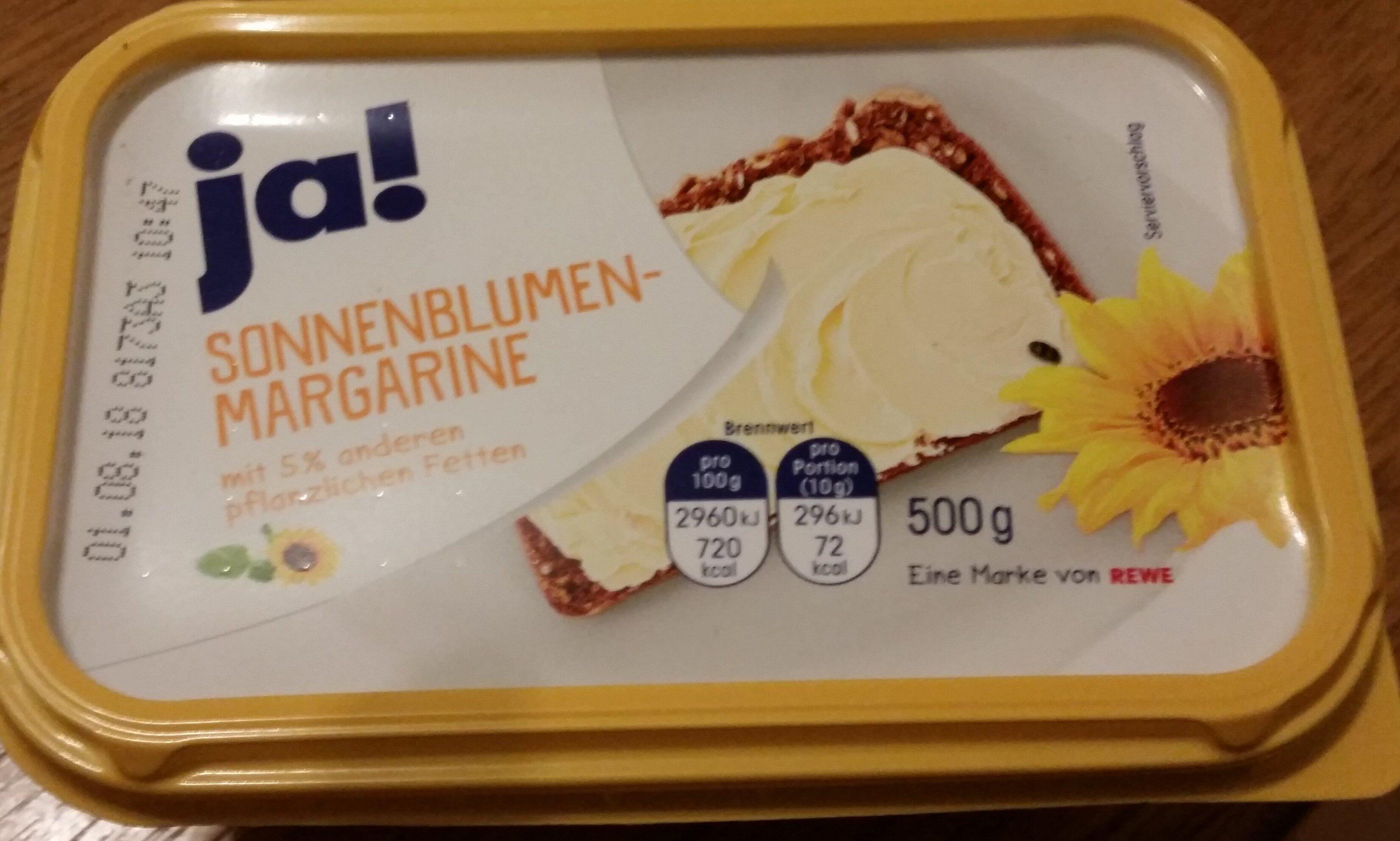 Sonnenblumen Margarine - Product - de