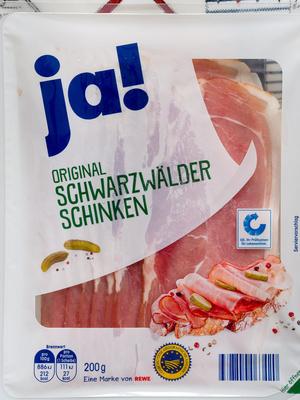 Original Schwarzwälder Schinken - Produkt