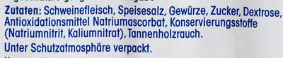 Original Schwarzwälder Schinken - Inhaltsstoffe