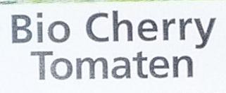 Bio Cherry Tomaten - Inhaltsstoffe
