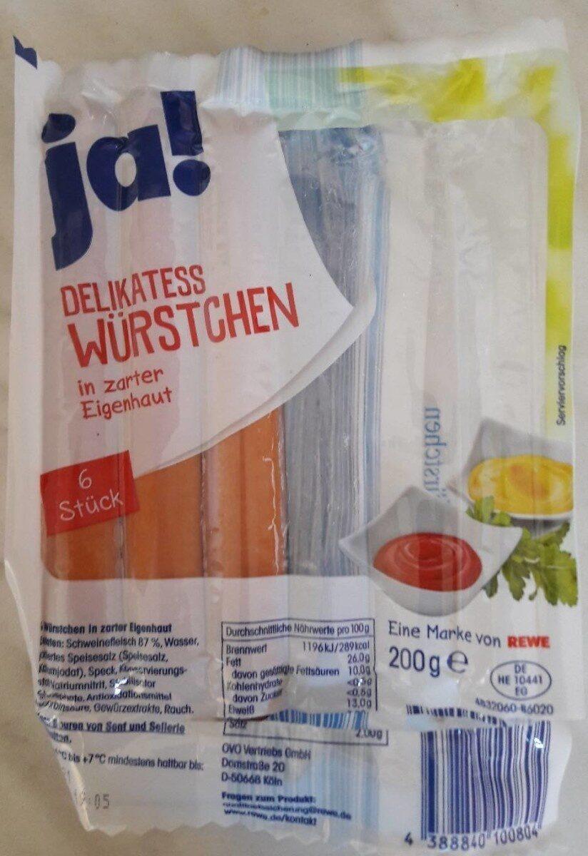 Delikatess Würstchen - Product - de