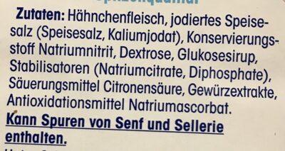 Delikatess Putenbrust, Gegart Mit Feiner Rauchnote - Zutaten - de