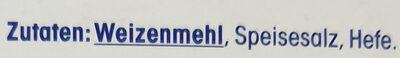 Paniermehl - Ingredients - de