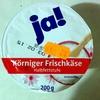 Körniger Frischkäse Halbfettstufe - Produkt