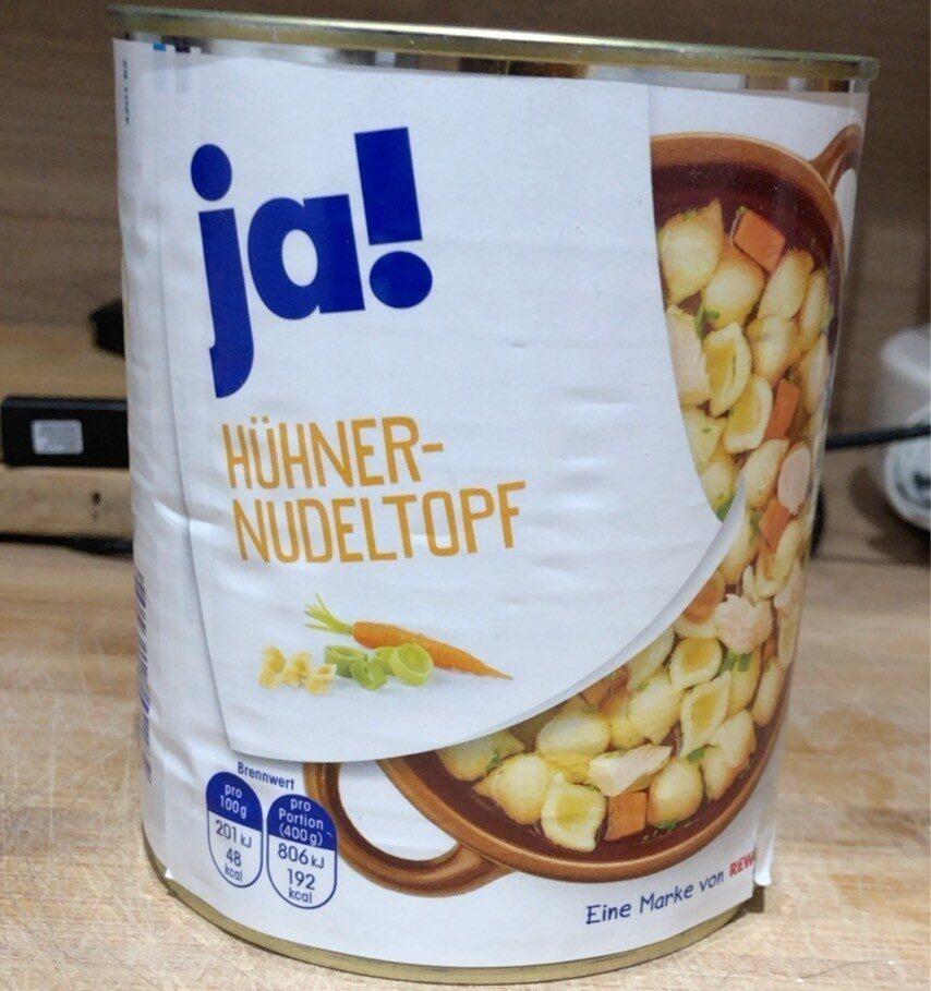 Huhner nudeltopf - Product - de