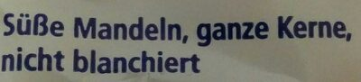 Mandeln ganze Kerne - Ingredienti - de