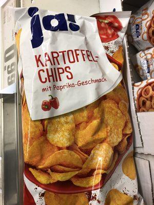 Kartoffelchips mit Paprika-Geschmack - Produkt