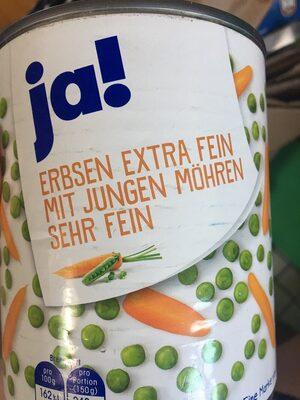 Erbsen mit Möhren - Produit - de