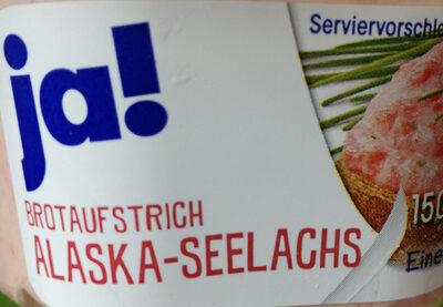 Brotaufstrich Alaska-Seelachs - Product - de
