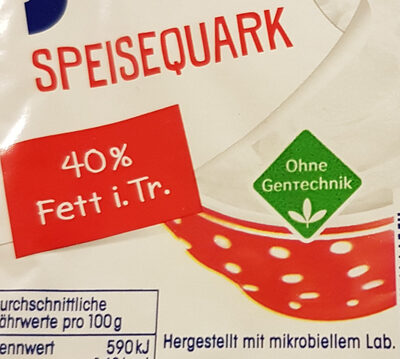 Quark - Ingredients - de