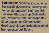 Delikatess Hähnchenbrustfilet - Ingredients - de